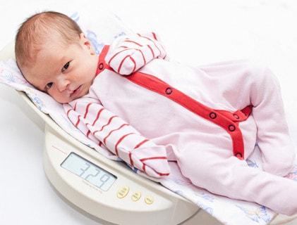 Babyweegschalen