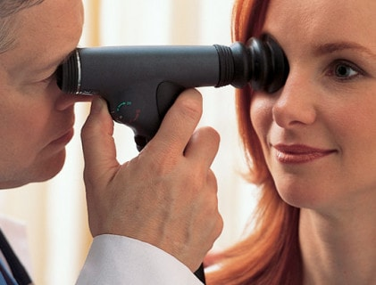 Otoscopen en oftalmoscopen
