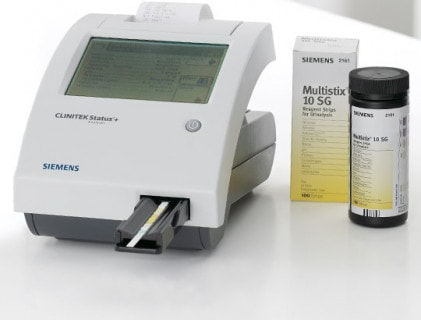 Analayseapparaten voor urineteststrips