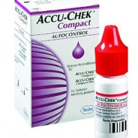 Accu-Chek Compact Plus, controlevloeistof