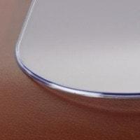 Vinyl-voetmat, transparant