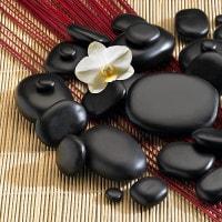 Hotstonetherapie - Professionele set met 45 stenen