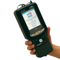 """Saliva Screen Handheld"", Drugstest afleesapparaat"