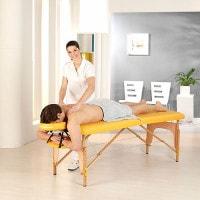 Massagetafel in voordeelpakket