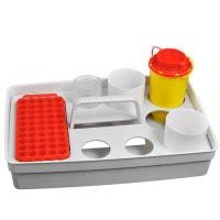 Safety Tray, dienblad voor bloedafname