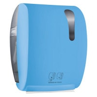 Handdoekdispenser met sensor, contactloos