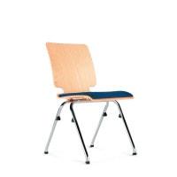 Stapelbare houten stoel