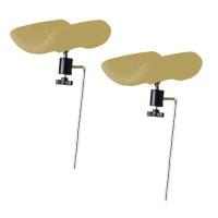 Beensteunen voor gynaecologische stoel