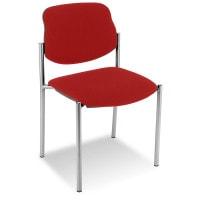 Gepolsterde bezoekersstoel