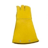 Dubbele handschoen met bijtpolstering