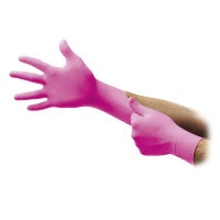 Ansell MICRO-TOUCH ≪Denta-Glove≫ Magenta Nitrile Allogel