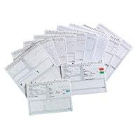Alphanorm systeemkaarten, 1000 stuks