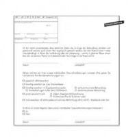 Patiëntenverklaring (IGEL), 500 stuks