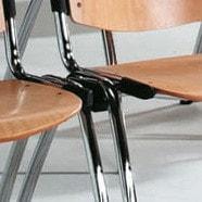 Rijkoppelstuk voor stapelstoel