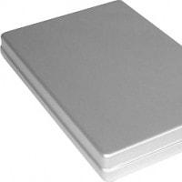 Aluminiumcasette met deksel voor Melag 75
