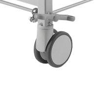 Centraal verstelbare dubbele wielen voor röntgentafel POWER-LIFT
