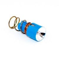 Xenon reservelamp voor voorhoofdlamp op batterijvoeding