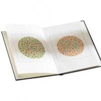Ishihara-kleurentest met 14 platen