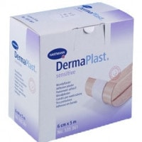 Dermaplast sensitive wondpleister op rol