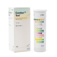 Combur 10 test, 100 urine-teststrips