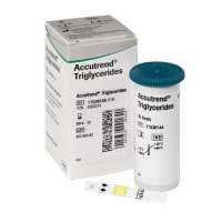 Accutrend triglycerideteststrips
