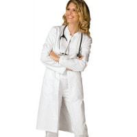 Getailleerde dames doktersjas