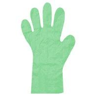 Polyethyleen handschoenen, groen