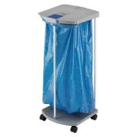 Medische afvalzakhouder van Hailo met wieltjes, die kan worden gebruikt voor afvalscheiding en recycling