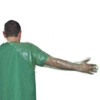 Handschoenen met schouderbeschermers