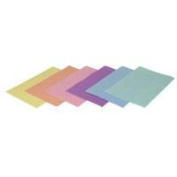 Traypapier, gekleurd