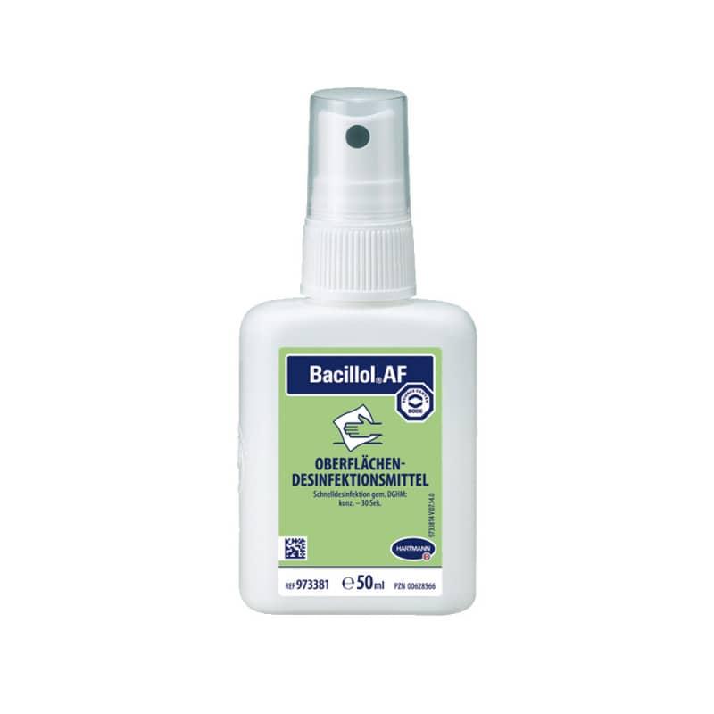Bacillol AF, snelle desinfectie van oppervlakken