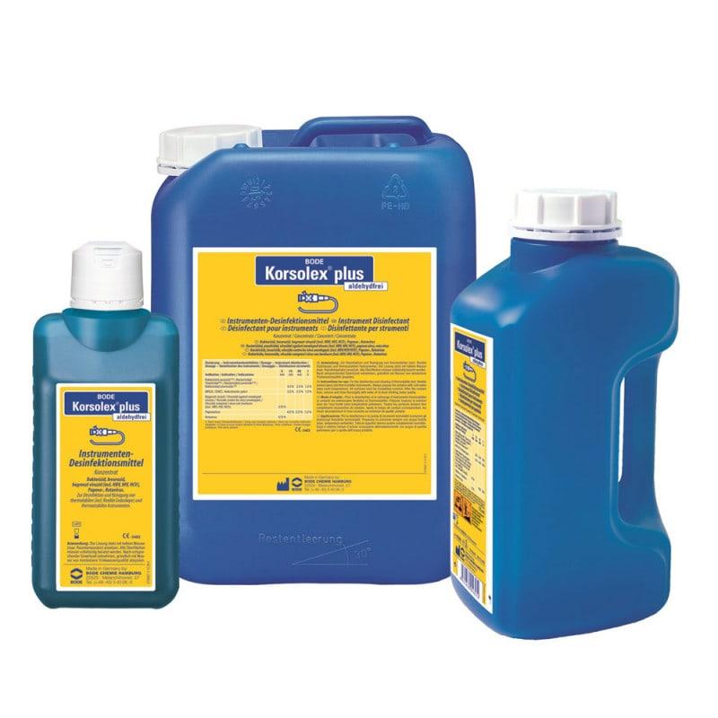 Korsolex plus desinfectiemiddel voor instrumenten