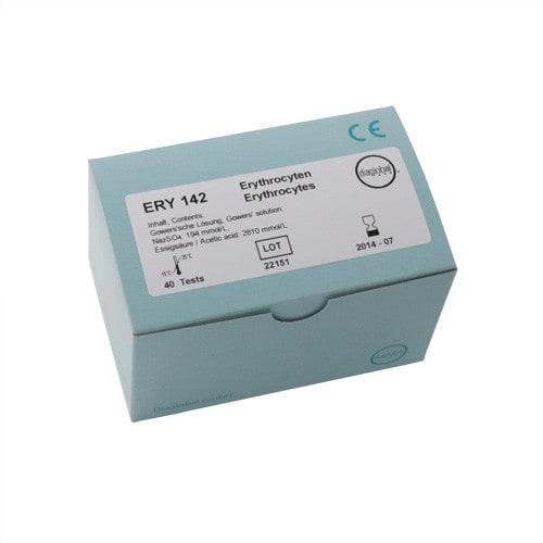 Testcuvetten voor erytrocyten, 40 stuks