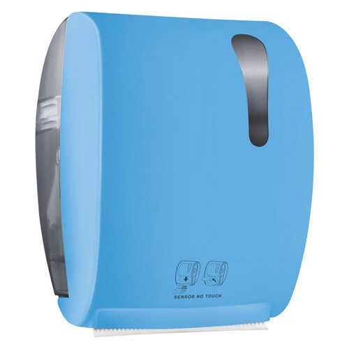Handdoekdispenser met sensor