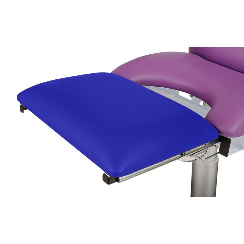 Beensteun voor gynaecologische stoel
