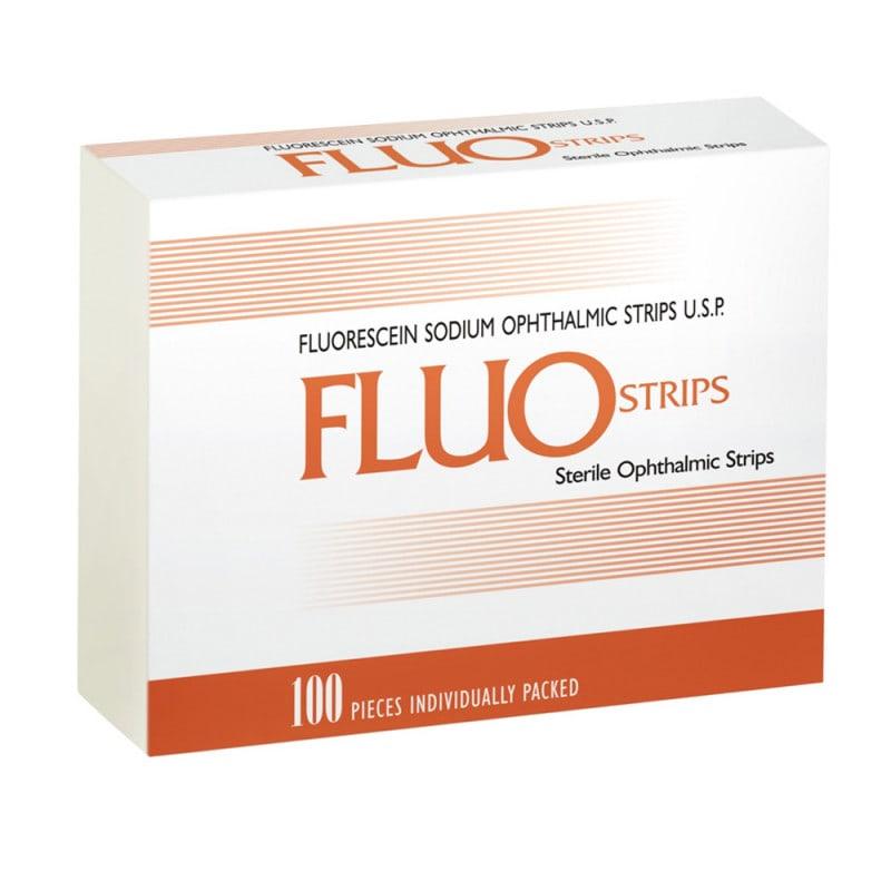 Fluoresceïne-teststrips, 300 stuks