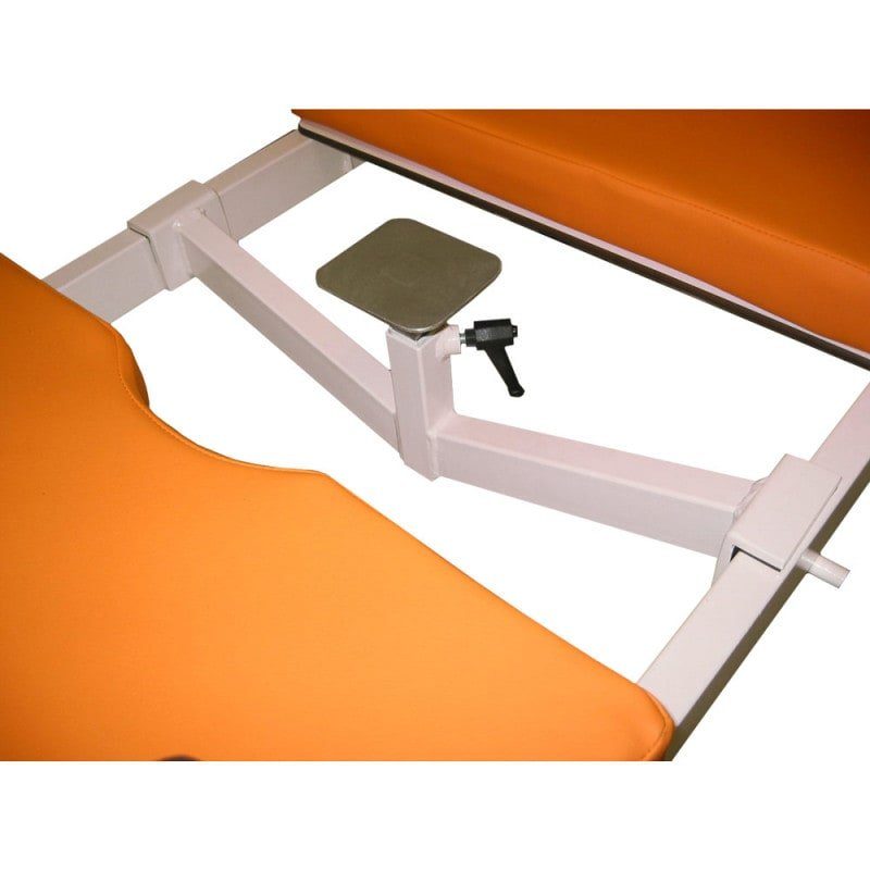Bekken-been-deklaag voor aanleggen van gips