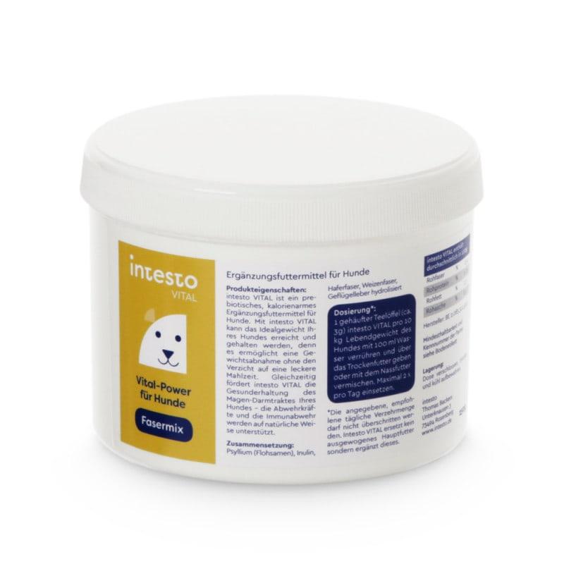 intesto.canine, voedingsvezelmix voor honden