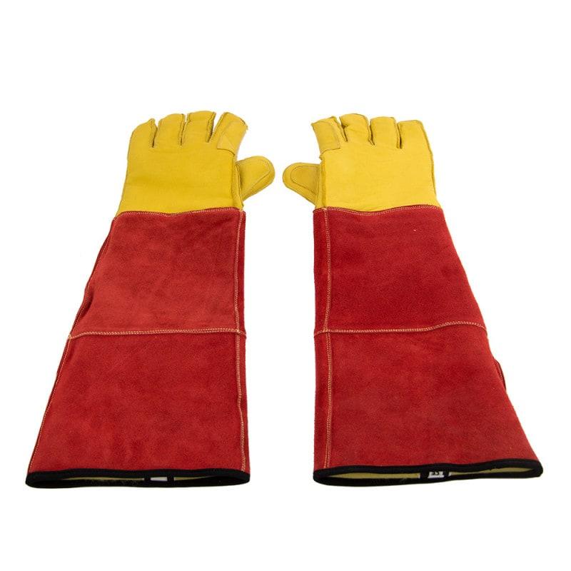 Beschermende handschoen voor honden en katten