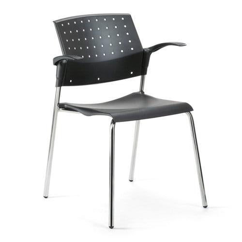 Moderne stapelstoel