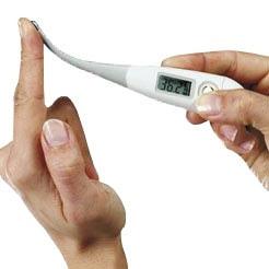 Klinische Thermometer met Flexibel Uiteinde