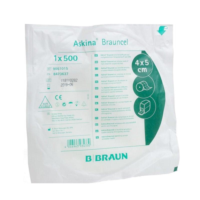 Askina Brauncel, Celstofwatten, 1 x 500 stuks