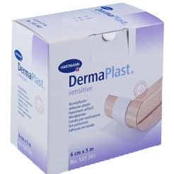 Dermaplast sensitive wondpleister op rol