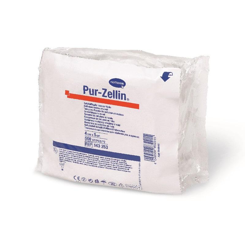 Pur-Zellin steriele celstofdoekjes