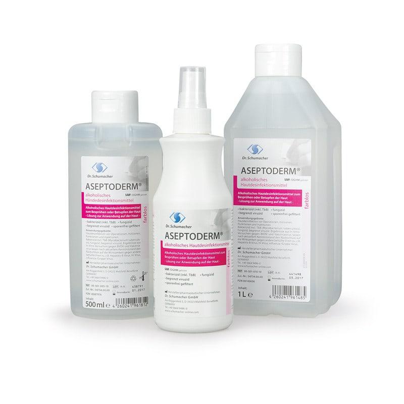 ASEPTODERM kleurloos, huiddesinfectie