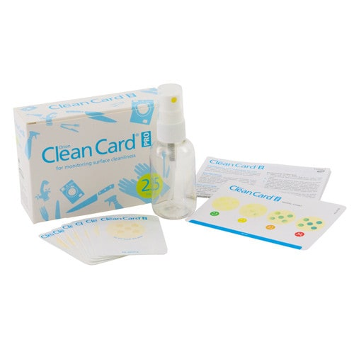 Orion Clean Card Pro, snelle hygiënetest