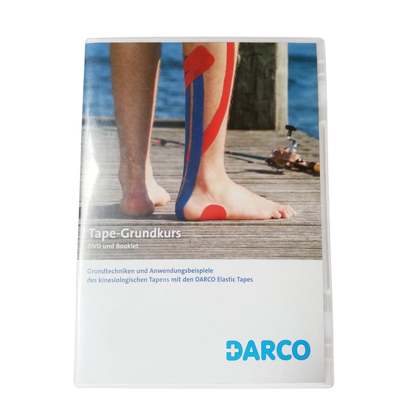 DARCO Basic Taping DVD und Booklet