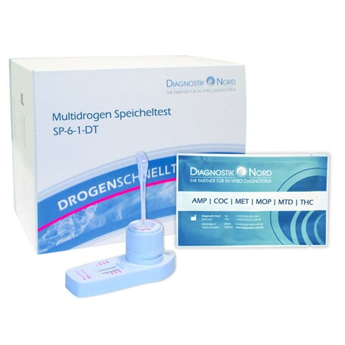 """Drug-6"", speeksel drugstest"