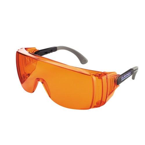 Lichte veiligheidsbril tegen blauw licht