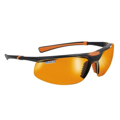 Monoart veiligheidsbril 'Stretch Orange'